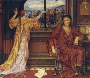 The Gilded Cage by Evelyn De Morgan, Public domain, via Wikimedia Commons