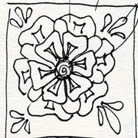 sketch of de morgan tile