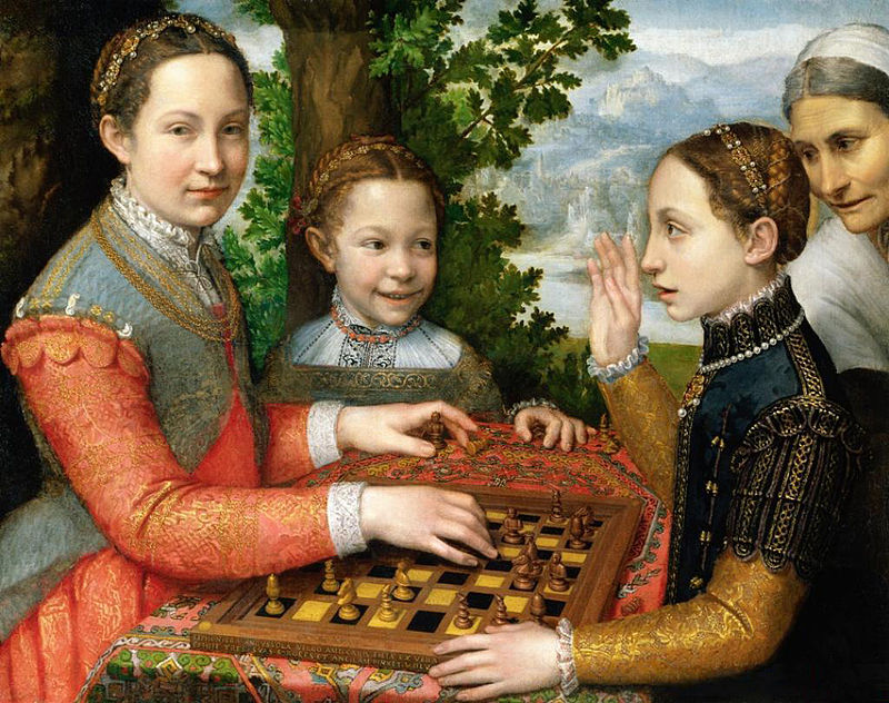 The Chess Game, 1555. Sofonisba Anguissola