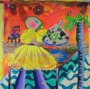 Houmous Starter by Rosalind Faram